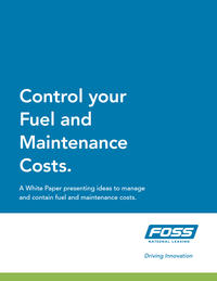 Control Your Fuel and Maintenance Costs Cover